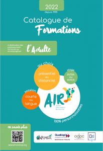couverture catalogue AIR adulte 2022